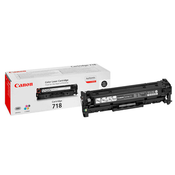 Canon 718VP Black Toner Cartridges (Pack of 2) 2662B005