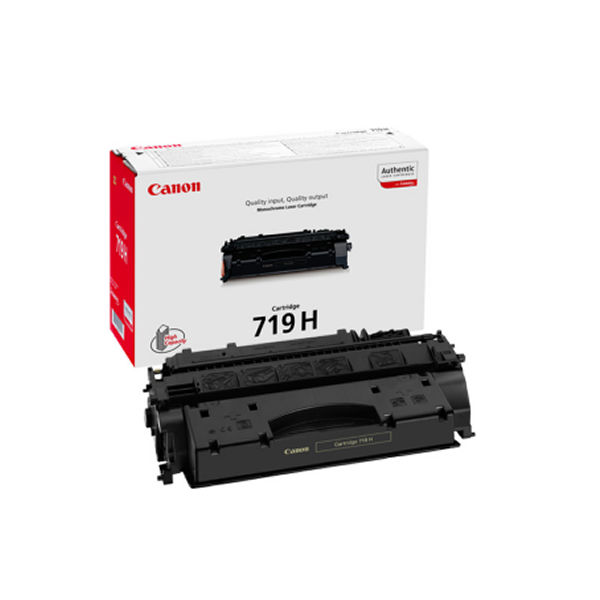 Canon 719H Black Toner Cartridge - High Capacity 3480B002AA