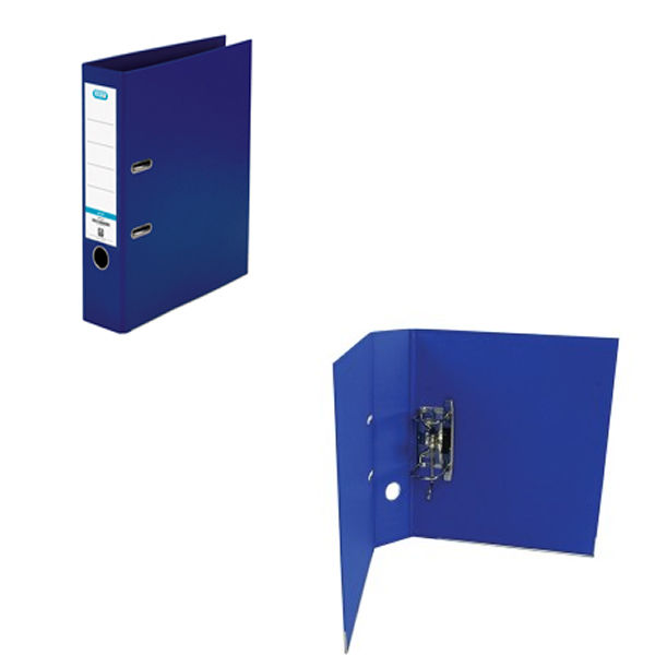 Elba Blue PVC A4 Lever Arch File 70mm - 1450-01