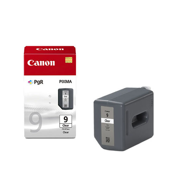 Canon PGI-9Clear Clear Inkjet Cartridge (Capacity 19ml) 2442B001