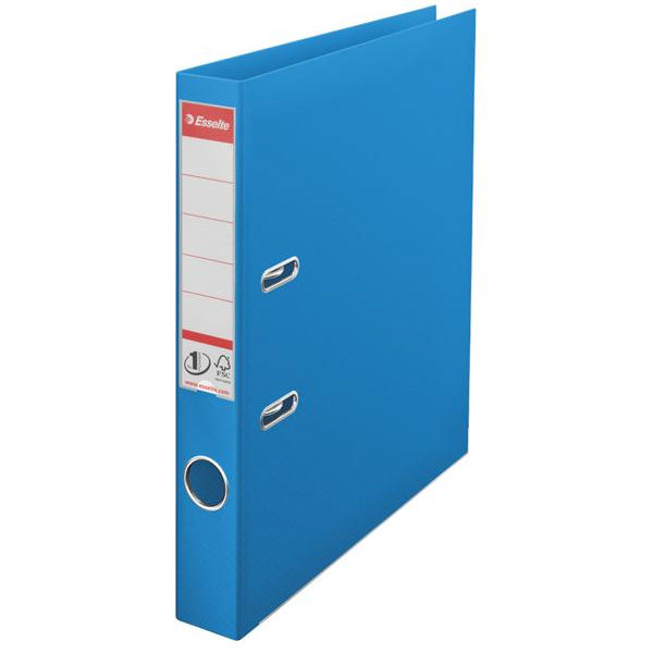 Esselte No.1 Power Blue A4 Lever Arch File 50mm - Pack of 10 - 48075
