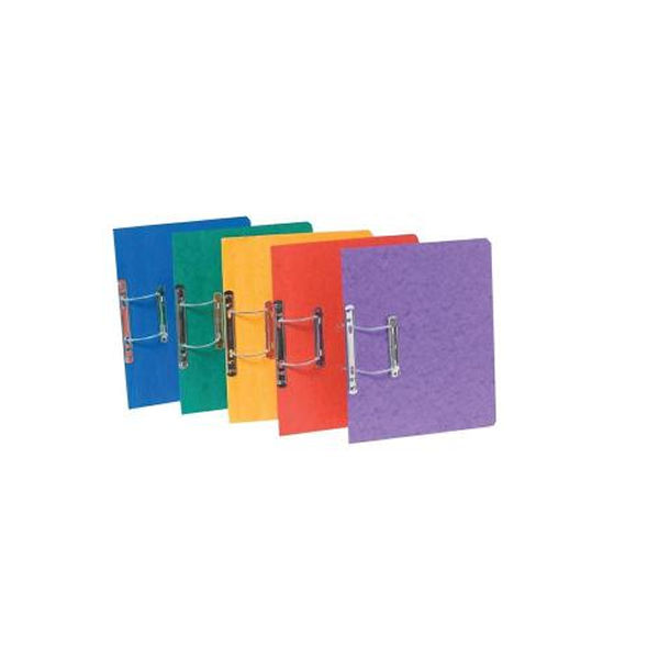 Europa Assorted Colours A4/Foolscap Spiral Files - Pack of 25 - 3000