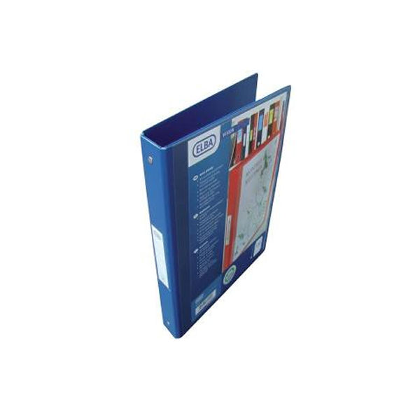 Elba Vision A4 Blue 2 O-Ring Binder | 100080886