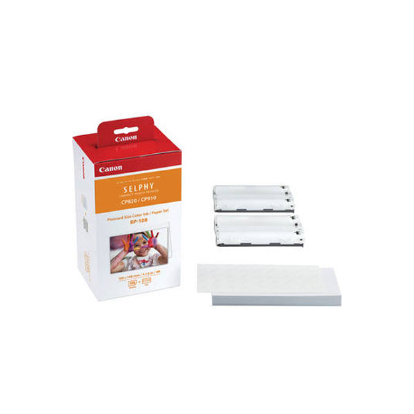 Canon RP-108IP Colour High Capacity Ink/Paper Set 8568B001AA
