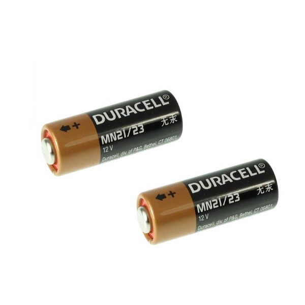 Duracell MN21 Car Alarm Batteries, Pack of 2 - 75072670
