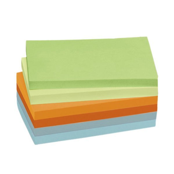 Post-it Notes Recycled 76 x 127mm Pastel Rainbow (Pack of 16) 655-1RPT