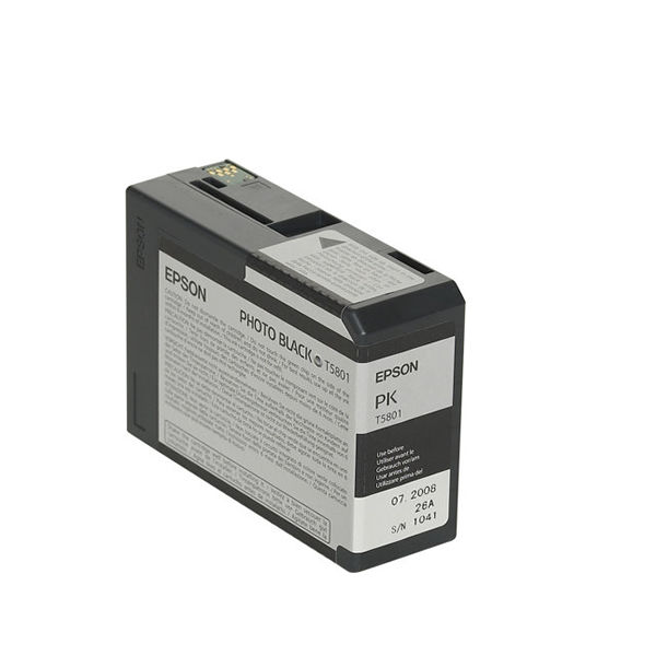 Epson T5801 Black Ink Cartridge - C13T580100