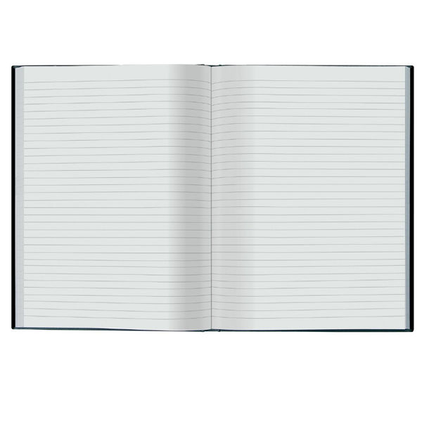 Collins Ideal Feint Ruled Casebound Notebook 192 Pages A4 6428