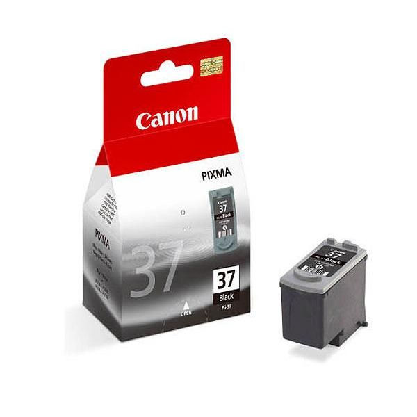 Canon PG-37BK Black Ink Cartridge - High Capacity PG-37