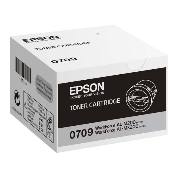 Epson S050709 Black Toner Cartridge C13S050709