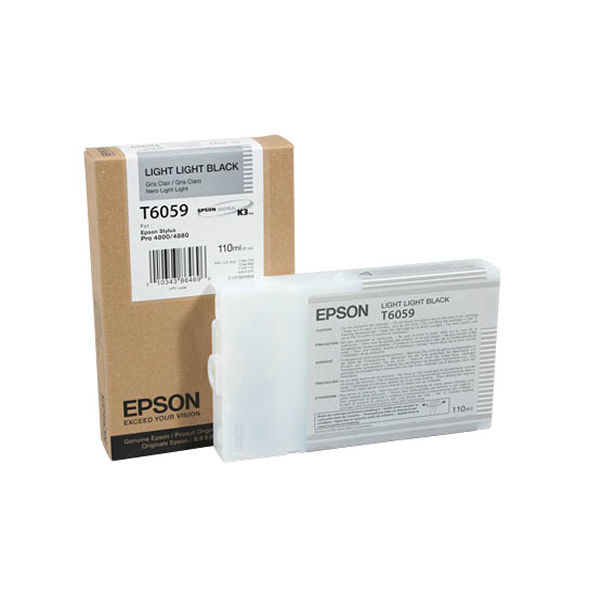 Epson T6059 Light Light Black Ink Cartridge - C13T605900