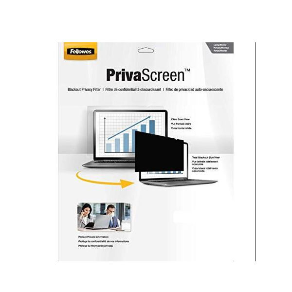 Fellowes PrivaScreen Privacy Filter Widescreen 14in 4812002