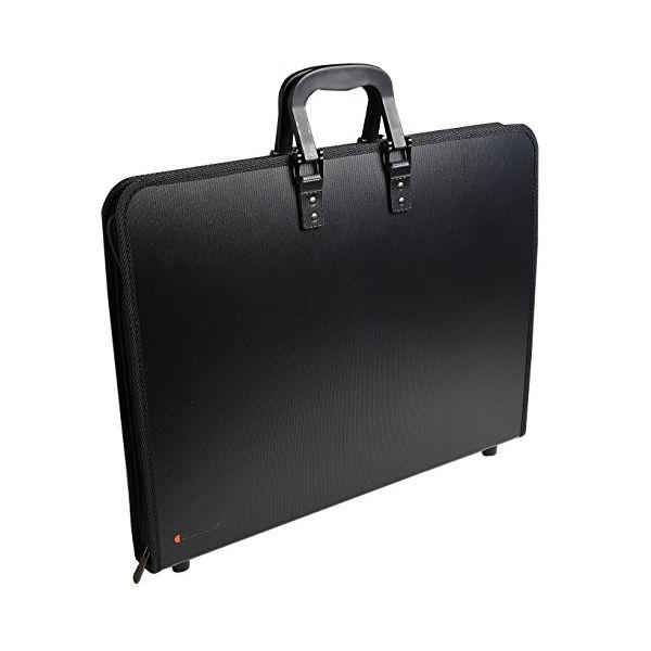 Goldline Black A3 Zip Portfolio - ZPC/A3