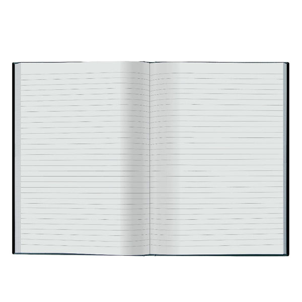 Collins Ideal Feint Ruled Casebound Notebook A5 468R