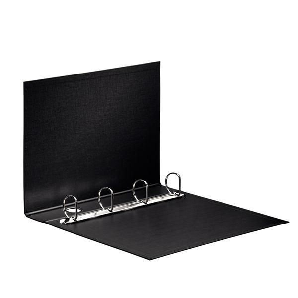 Esselte Black A4 Maxi 4 D-Ring Binder 40mm - 82407