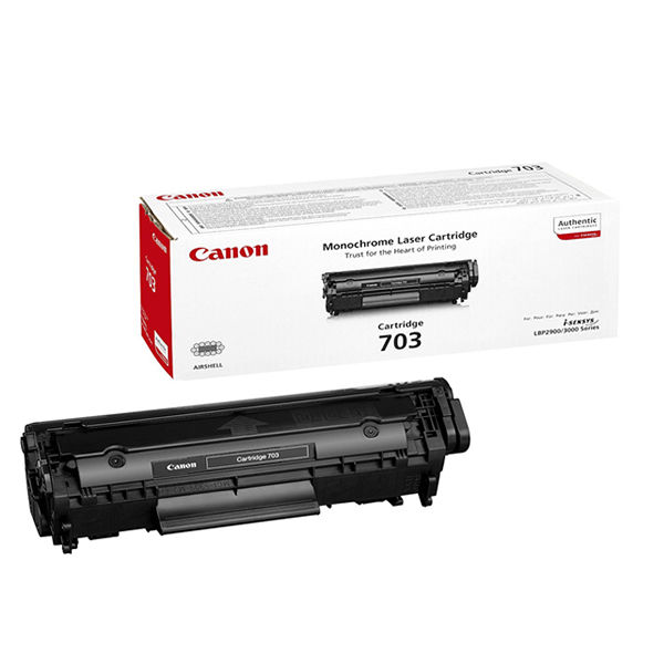 Canon 703 Black Toner Cartridge 7616A005