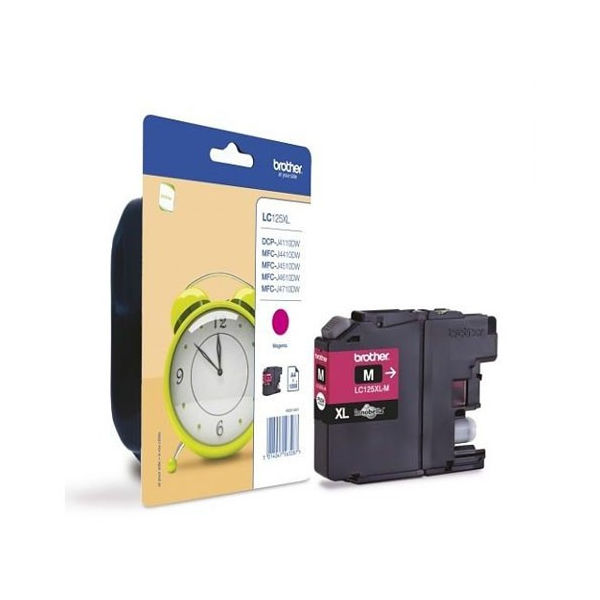 Brother LC125XLM Magenta Ink Cartridge - High Capacity LC125XLM