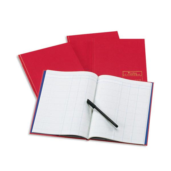 Collins Cathedral Analysis Book, 96 Pages, 14 Cash Columns - 060602