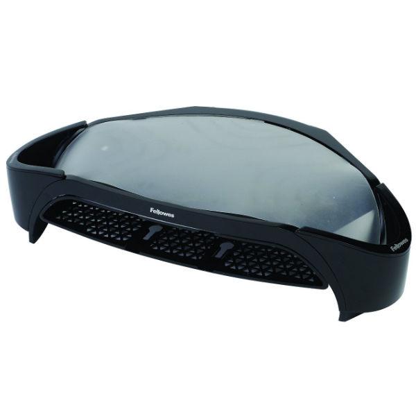 Fellowes Smart Suites Monitor Riser Plus Black/Silver 8020801
