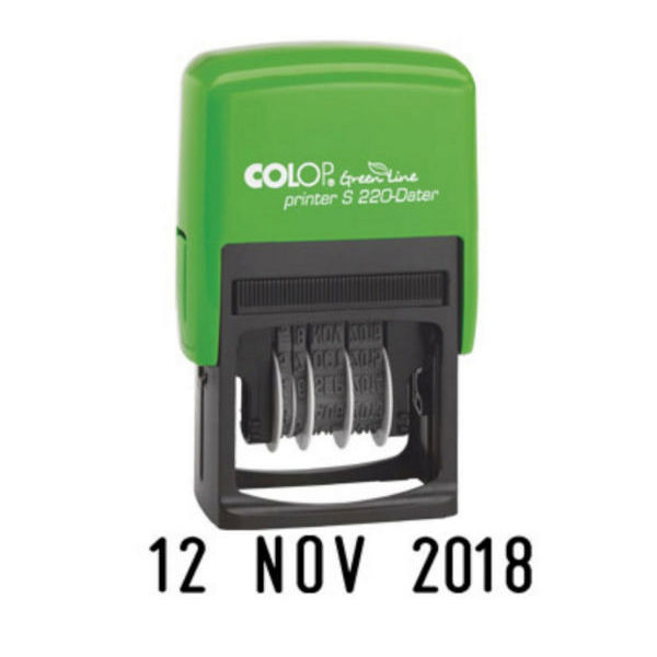 COLOP Green Line Printer S220 Date Stamp - EM42438