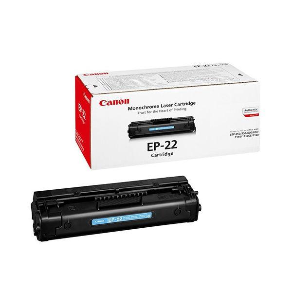 Canon Black EP-22 Toner Cartridge - 1550A003