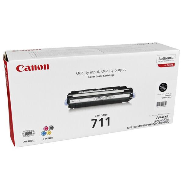 Canon 711K Black Toner Cartridge 1660B002AA