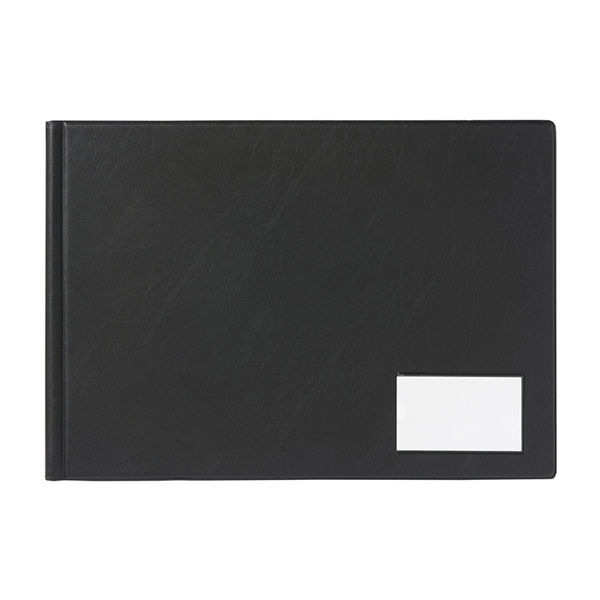Goldline Black A3 Landscape 24 Pocket Display Book - GDB24/L