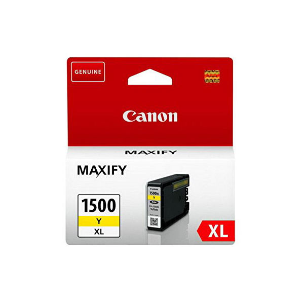 Canon PGI-1500XLY Yellow Ink Cartridge - High Capacity PGI-1500XL Y