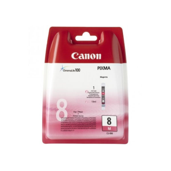Canon CLI-8M Magenta Ink Cartridge 0622B001