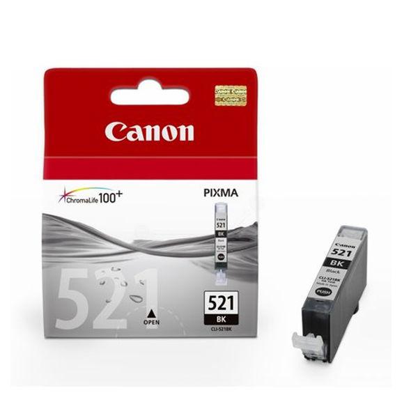 Canon CLI-521 Black Ink Cartridge - 2933B001