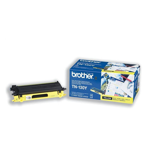 Brother TN-130Y Yellow Toner Cartridge - TN130Y