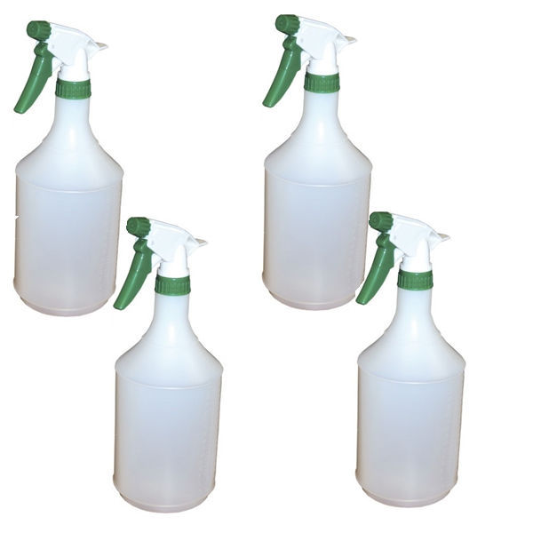 2Work Trigger Spray Refill Bottle Green (Pack of 4) 101958GN
