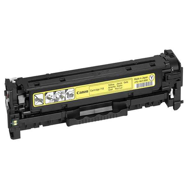Canon 718 Yellow Toner Cartridge - 716 Y