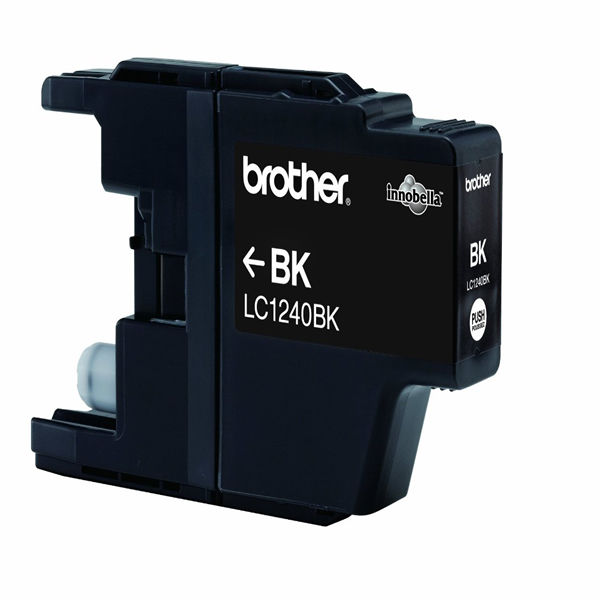Brother LC1240BK Black Inkjet Cartridge (600 page capacity) LC-1240BK