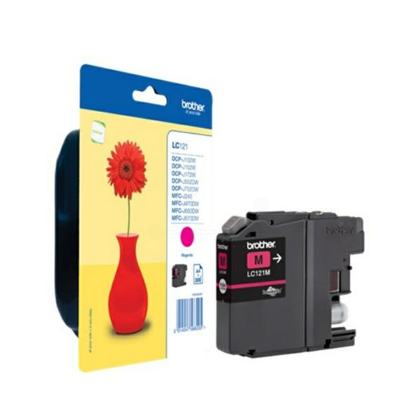 Brother LC121M Magenta Ink Cartridge - LC121M