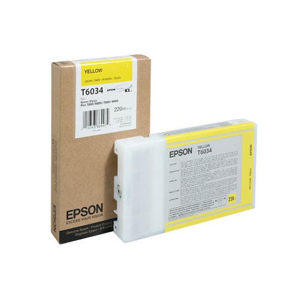 Epson T6034 Yellow Ink Cartridge - C13T603400