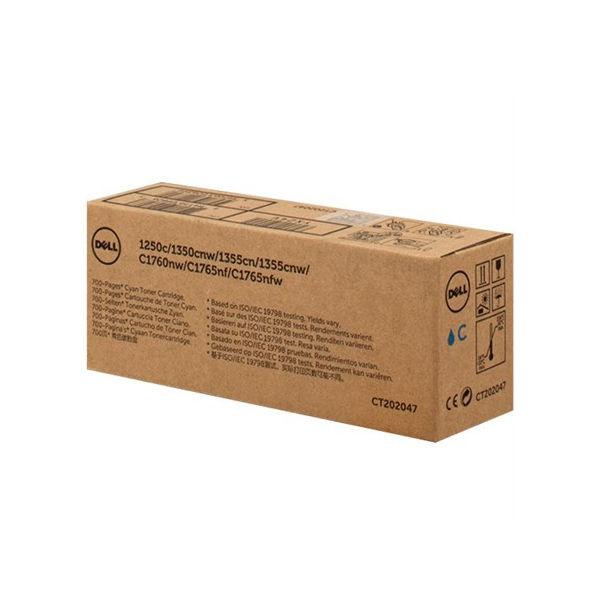 Dell Cyan Toner Cartridge (700 Page Capacity) 593-11145