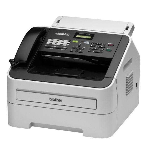 Brother FAX-2940 Mono Laser Fax Machine White - FAX2940ZU1