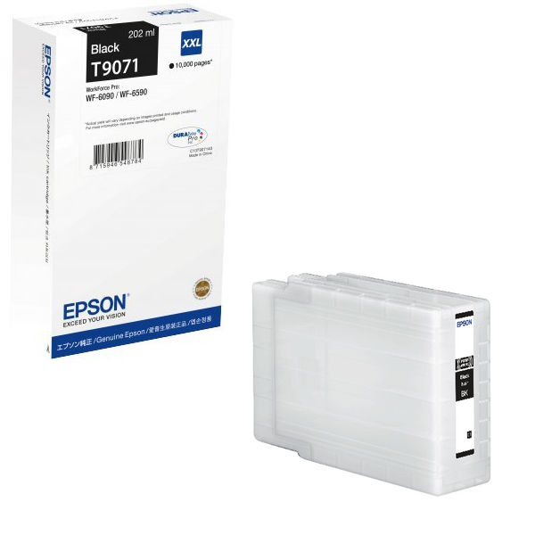 Epson T9071 Black Ink Cartridge - Extra High Capacity C13T907140