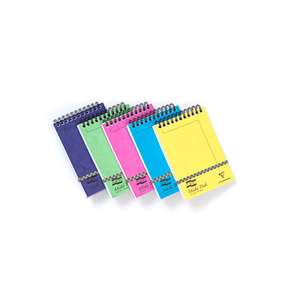 Europa Assorted C Midi Notepads - Pack of 10 - GH10204