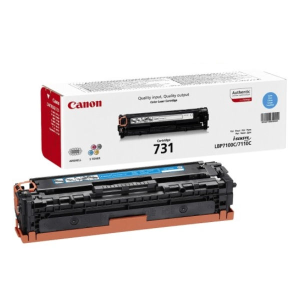Canon 731C Cyan Toner Cartridge - 6271B002