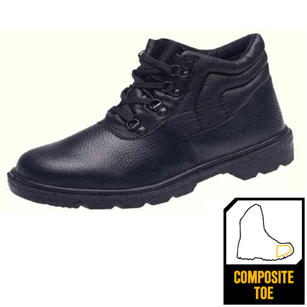 Size 8 Black Mid Sole 4 D-Ring Boot - CDDCMSBL08