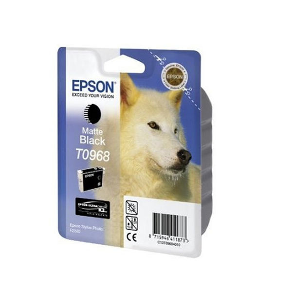 Epson T0968 Black Ink Cartridge - C13T09614010