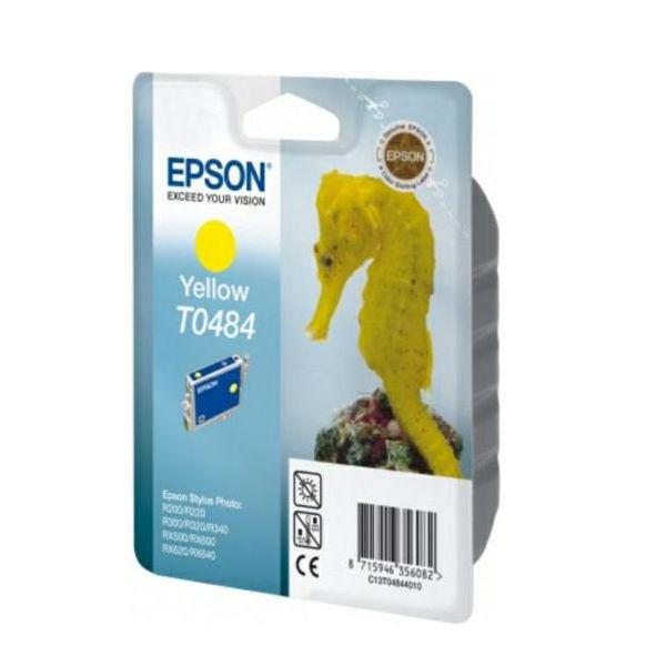 Epson T0484 Yellow Ink Cartridge - C13T04844010