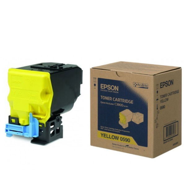 Epson C3900DN Yellow Toner Cartridge - C13S050590
