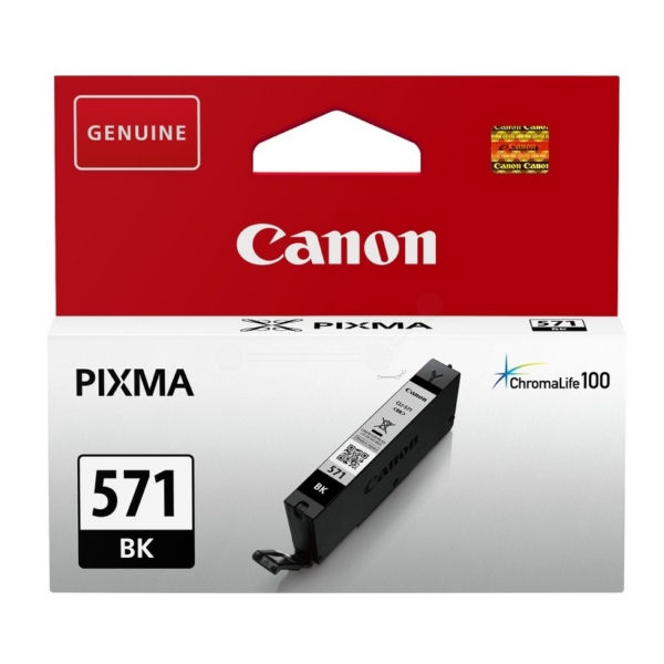 Canon CLI-571BK Black Ink Cartridge 0385C001