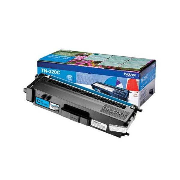 Brother TN320C Cyan Toner Cartridge - TN320C