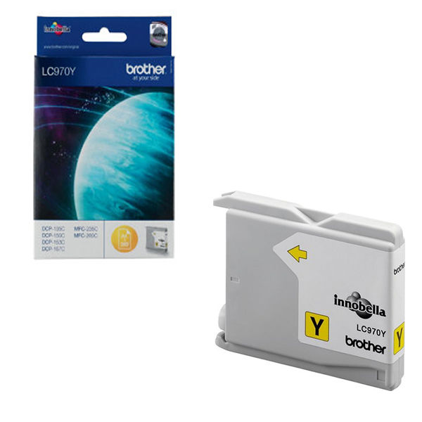 Brother LC970Y Yellow Ink Cartridge - LC970Y