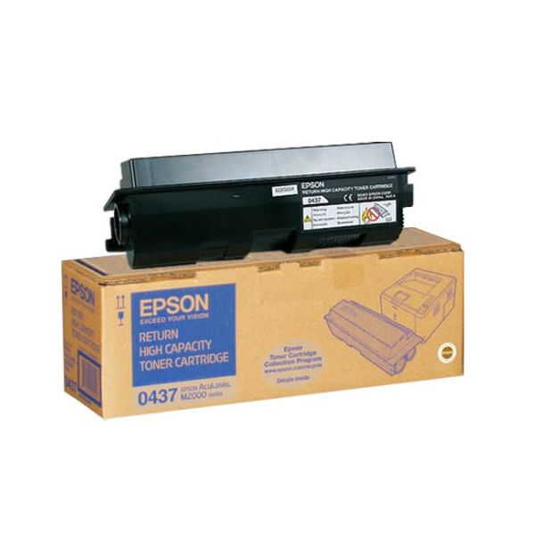 Epson M2000 Black Toner Cartridge - High Capacity C13S050437