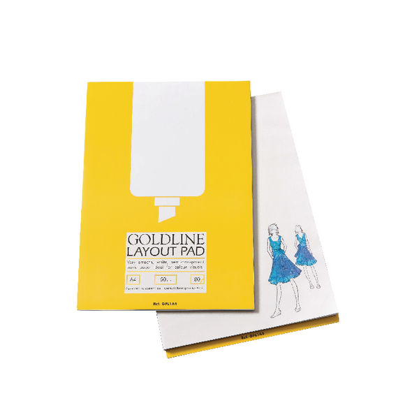 Clairefontaine Goldline A3 50gsm Layout Pad - GPL1A3
